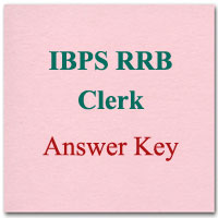 IBPS RRB Clerk Answer Key
