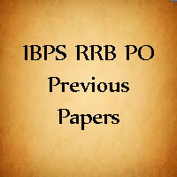 IBPS RRB PO Previous Papers
