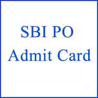 SBI PO Admit Card copy