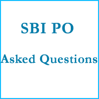 SBI PO Asked Questions copy