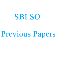 SBI SO Previous Papers copy